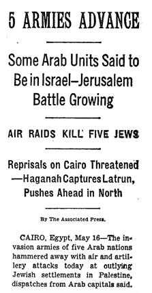 Arabs invade