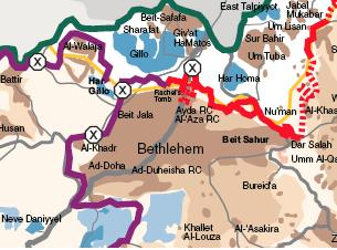 btselem map
