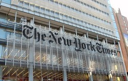 New York Times News Pages Again Editorialize On Netanyahu