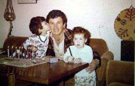 Danny Haran and daughters
