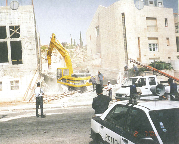 Jerusalem synagogue demolition
