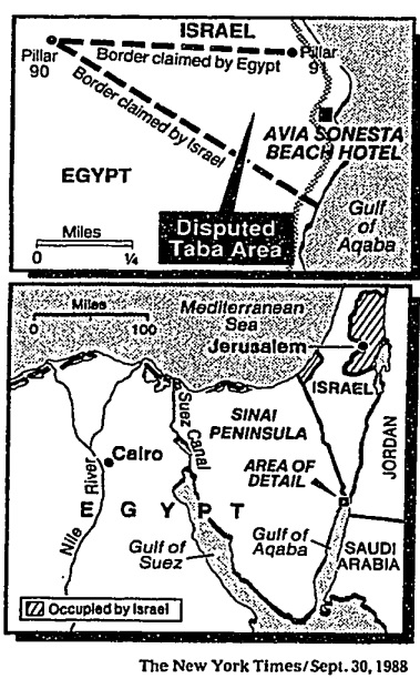 New York Times 1988 map