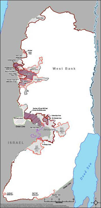 On CNN, Many More Carter Fabrications | CAMERA Kdumim Road Map West Bank on