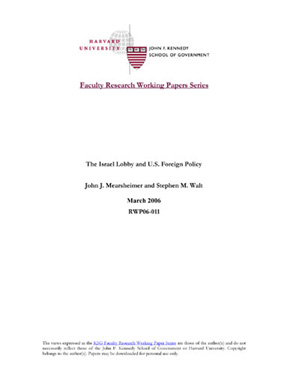 ksg faculty research working paper series