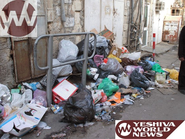 Garbage Mea Shearim