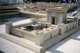 model of second temple