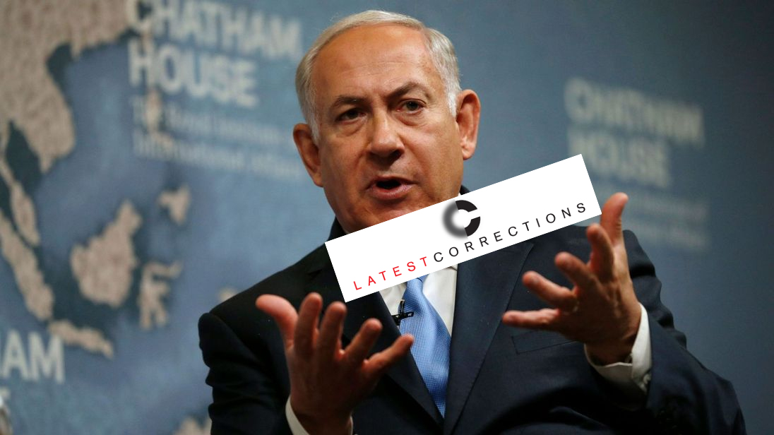 LA Times Corrects: Netanyahu Didn`t Threaten to Annex All of West Bank