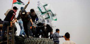 Palestinian swastika kite
