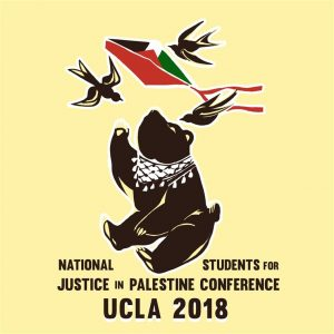 NSJP poster with UCLA name