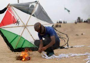 Palestinian incendiary kite