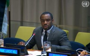 Marc Lamont Hill at U.N.
