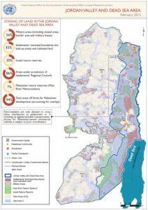 UN map of Jordan Valley