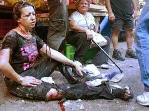 An AP photo of a victim of PFLP's terror