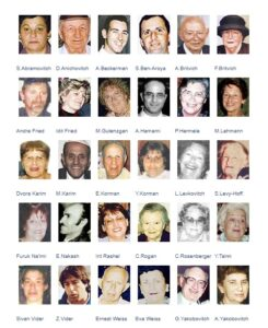 Jewish victims of the Park Hotel bombing