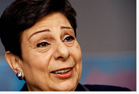 Media Celebrate Anti-Israel Propagandist Hanan Ashrawi After She Resigns From PLO
