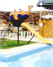 Palestinian swimming pool